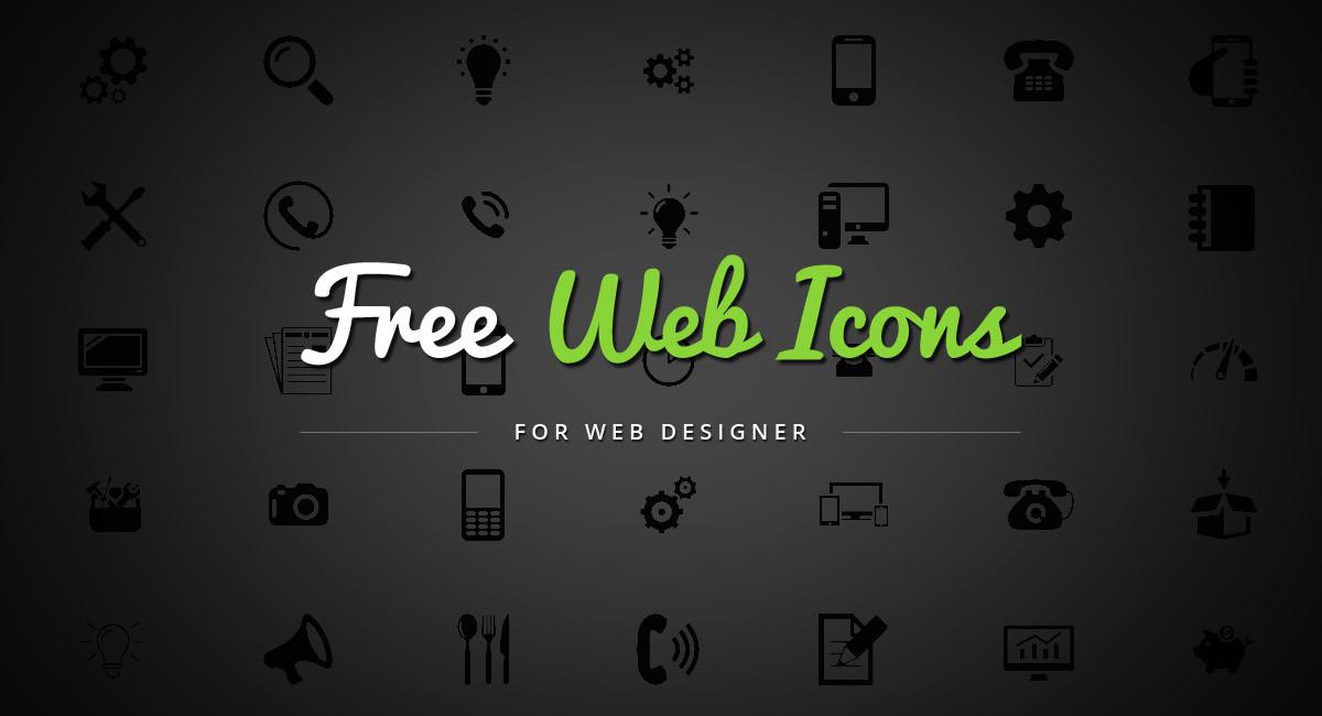 Free Web Icons for Web Designer