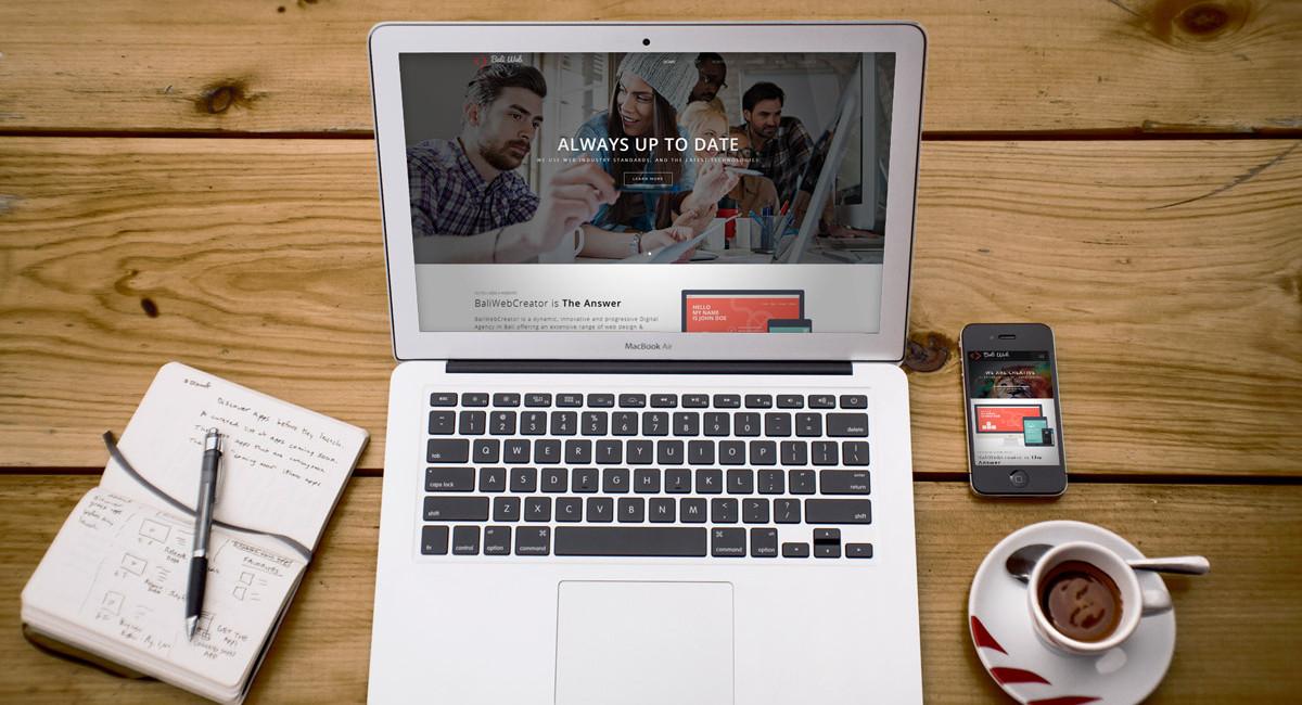 New BaliWebCreator Website