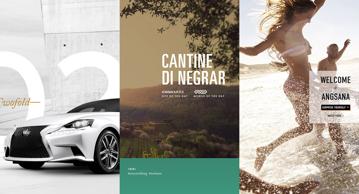 Nice Web Design Inspirations for You